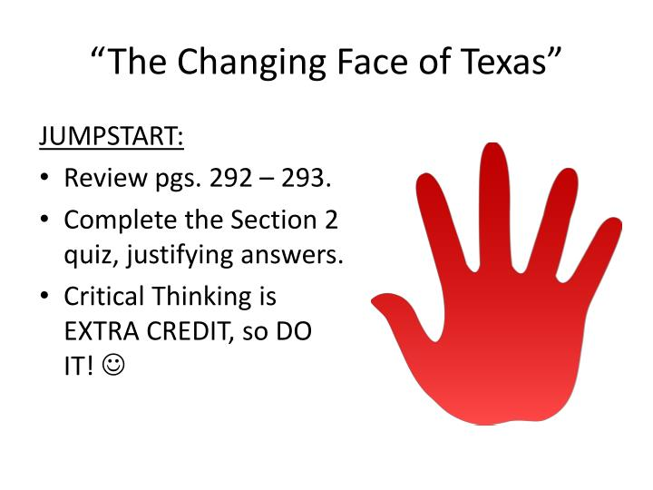 The changing face of texas