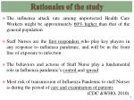 rationales of the study