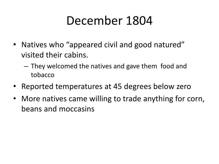 December 1804