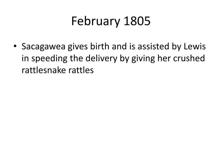 February 1805