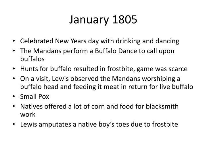 January 1805