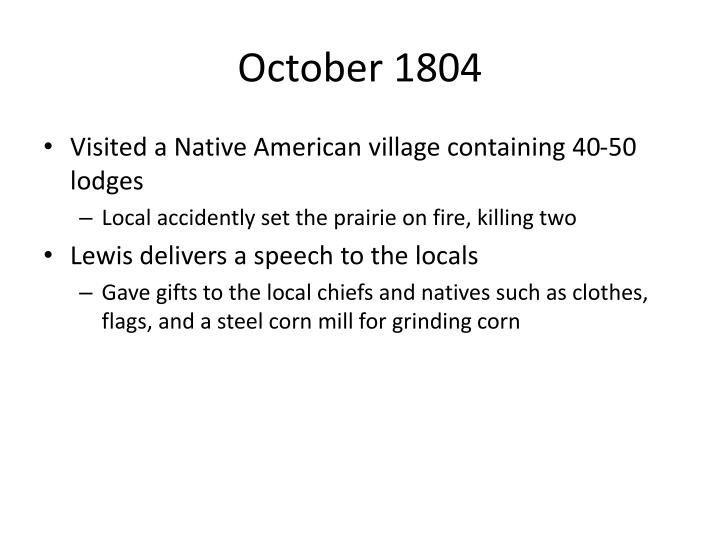 October 1804