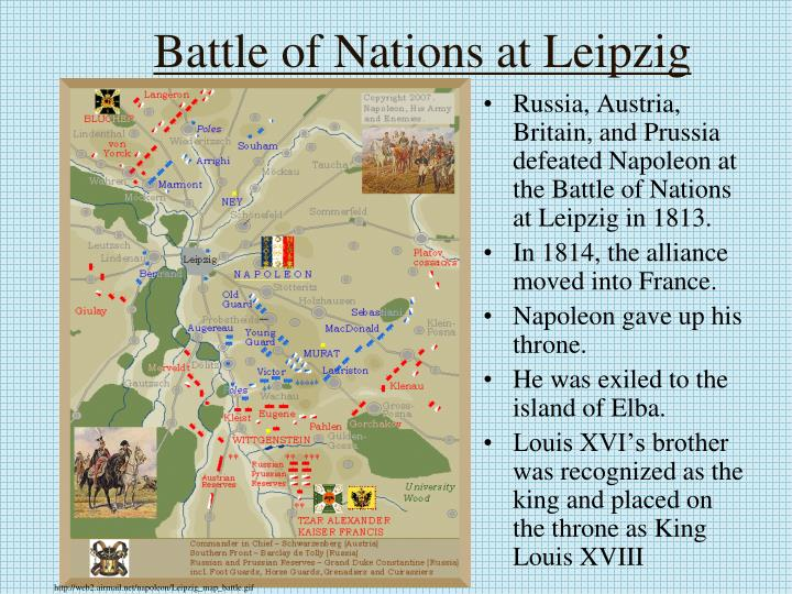 Battle of Nations at Leipzig