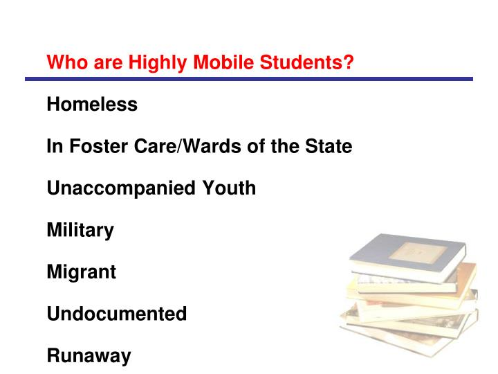 Who are Highly Mobile Students?