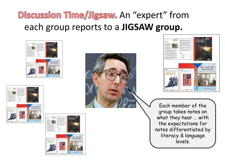 Discussion Time/Jigsaw.