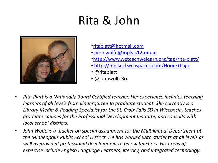 Rita & John