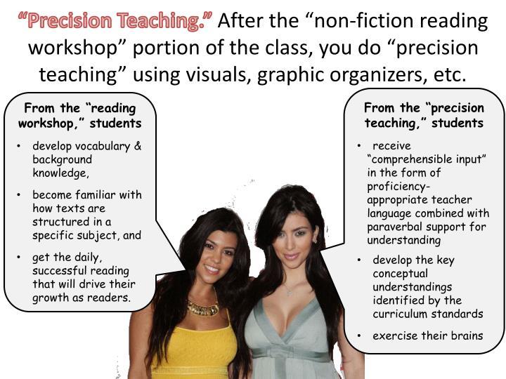 """Precision Teaching."""