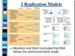 3 replication models
