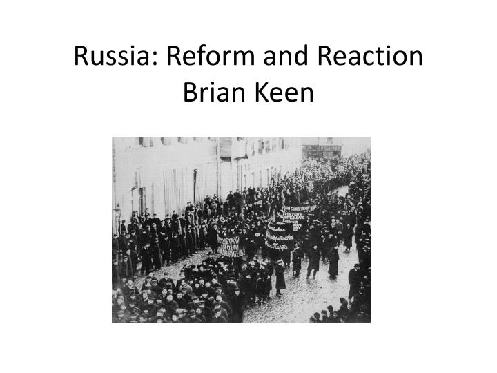 Russia: Reform and