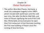 chapter 10 global realization