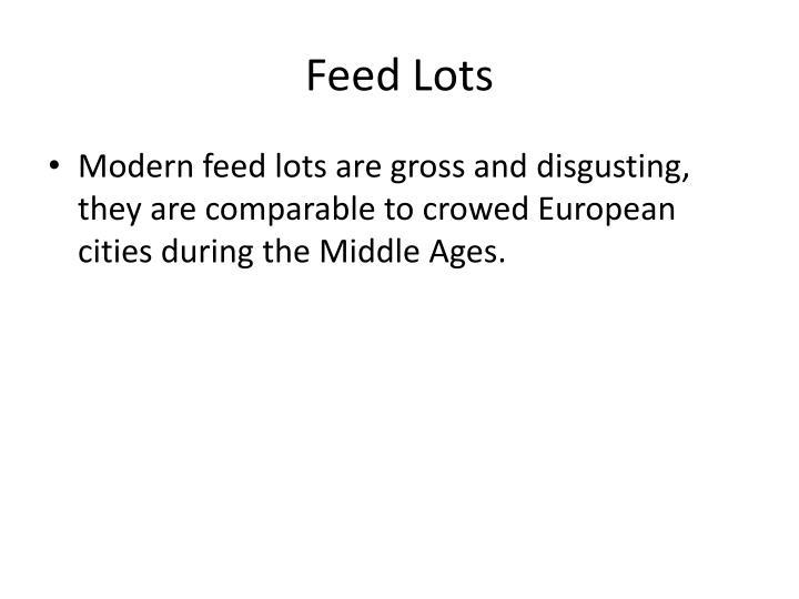 Feed Lots