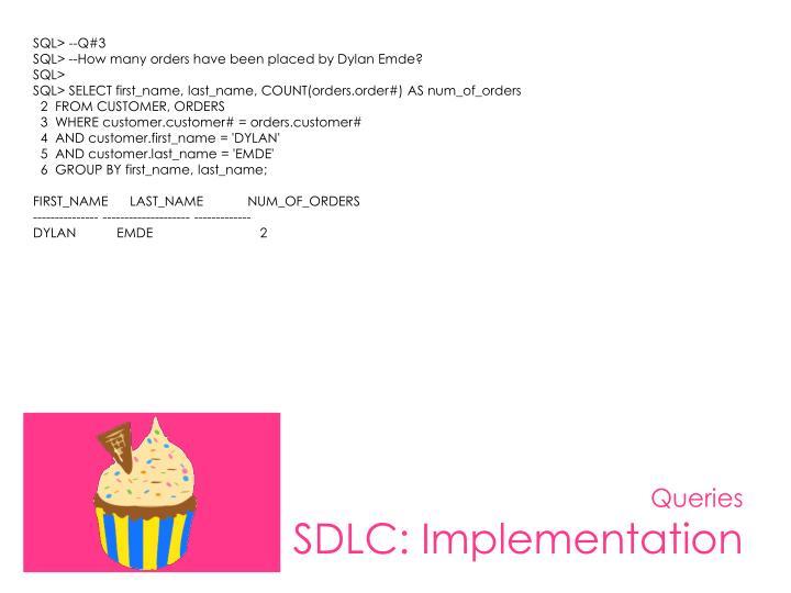 SQL> --Q#3
