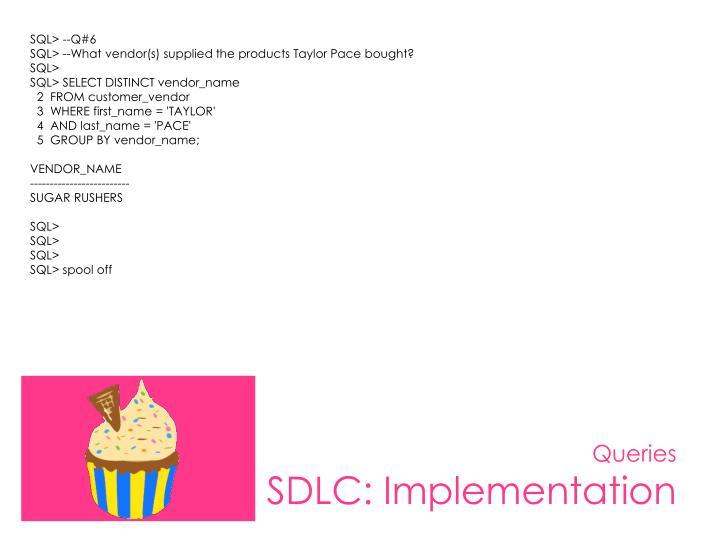 SQL> --Q#6