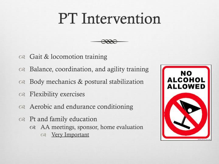 PT Intervention