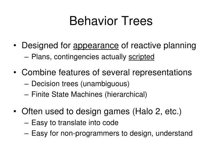 Behavior Trees