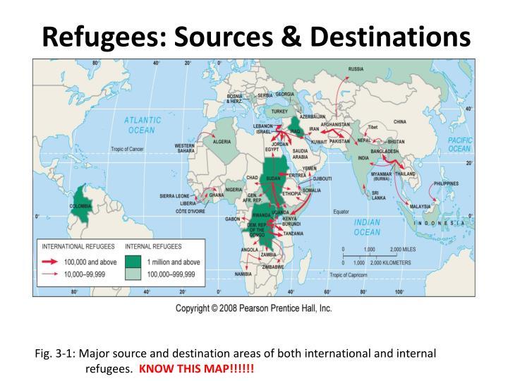 Refugees: Sources & Destinations