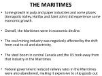 the maritimes