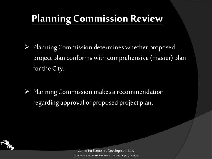 Planning Commission Review