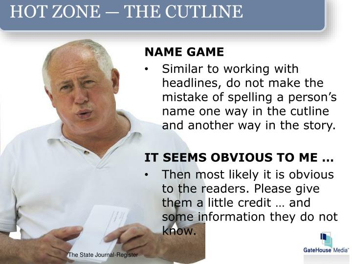HOT ZONE — THE CUTLINE