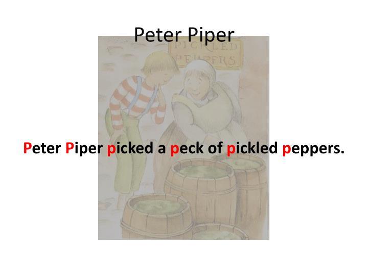 Peter Pip