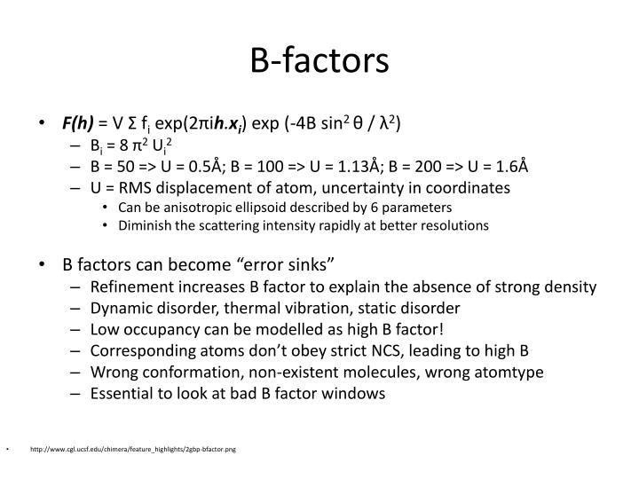 B-factors