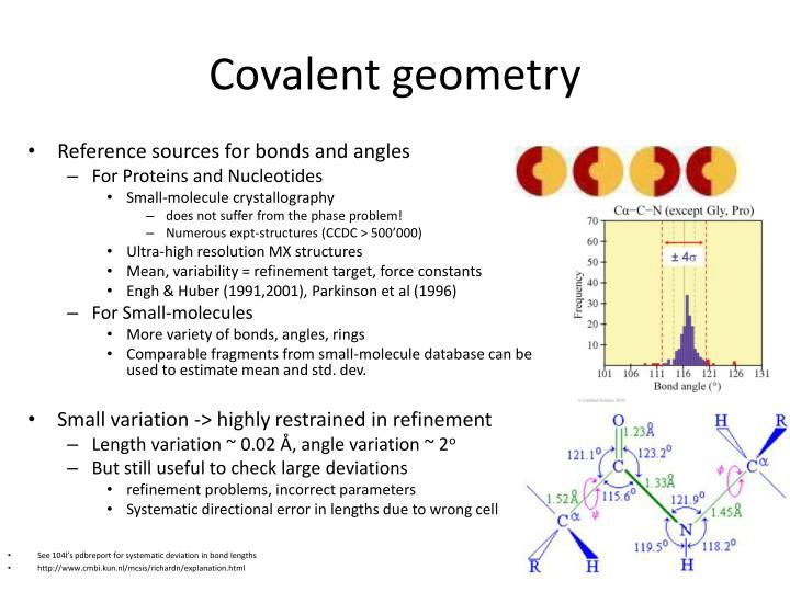 Covalent geometry