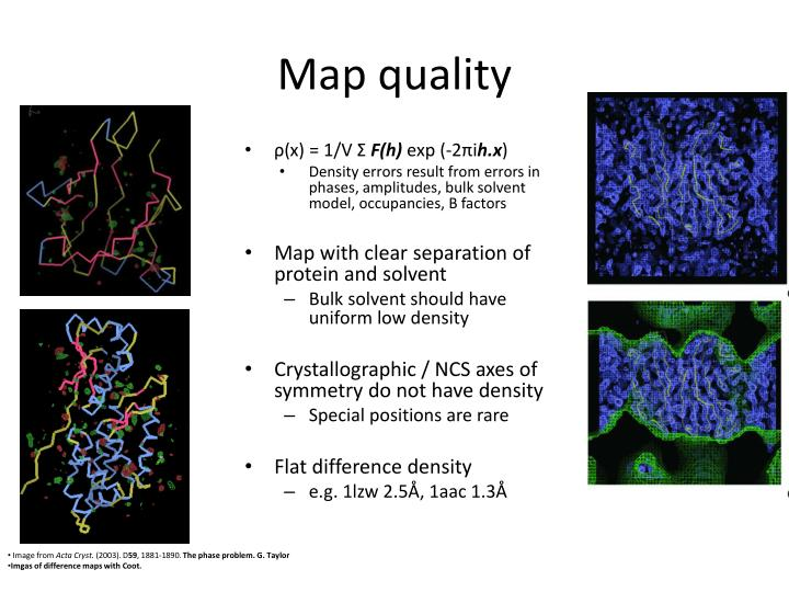 Map quality
