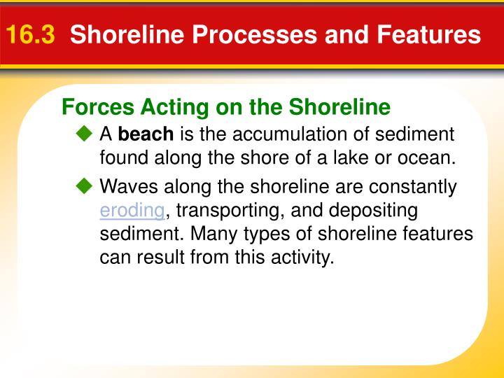 16 3 shoreline processes and features