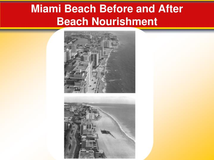 Miami Beach Before and After