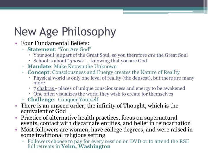 New Age Philosophy