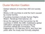 cluster munition coalition