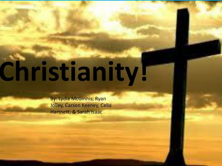 Christianity!