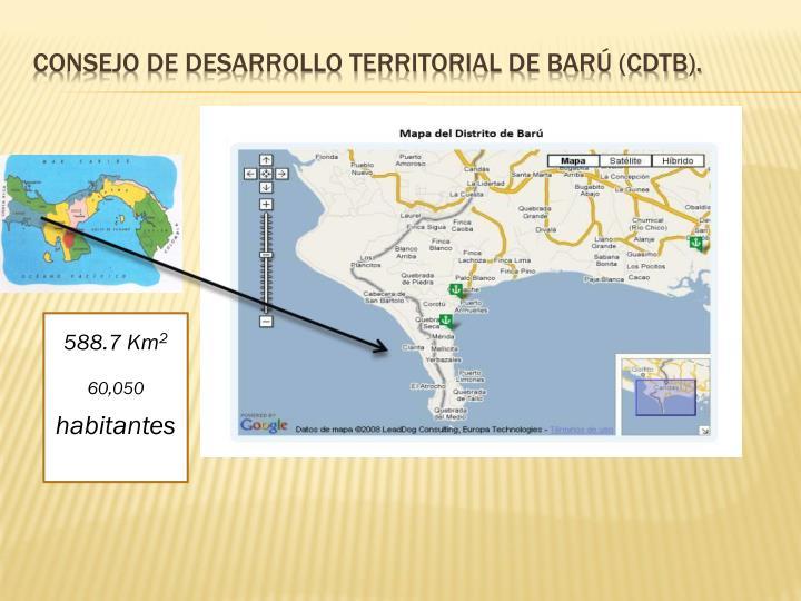 Consejo de Desarrollo Territorial de Barú (CDTB).