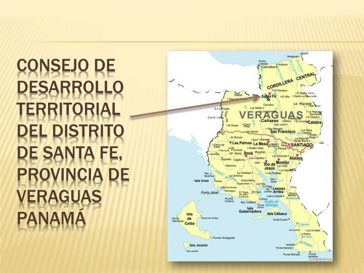 Consejo de desarrollo territorial del distrito de santa fe, provincia de