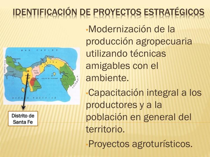 Identificación de proyectos estratégicos