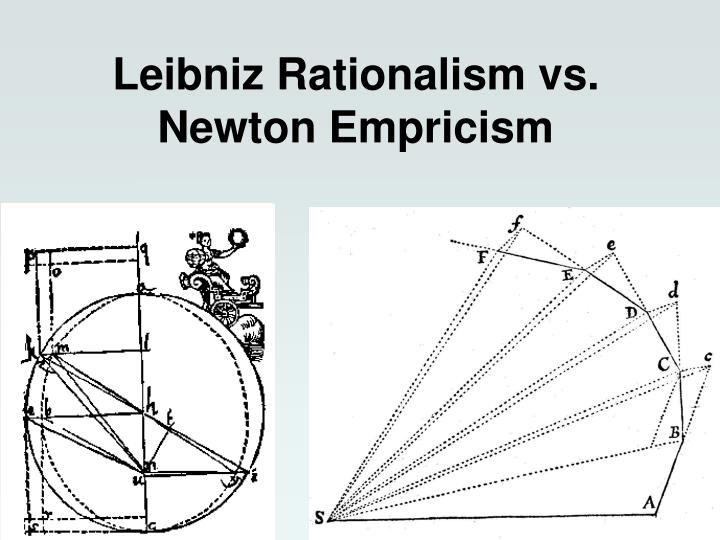 Leibniz Rationalism vs. Newton