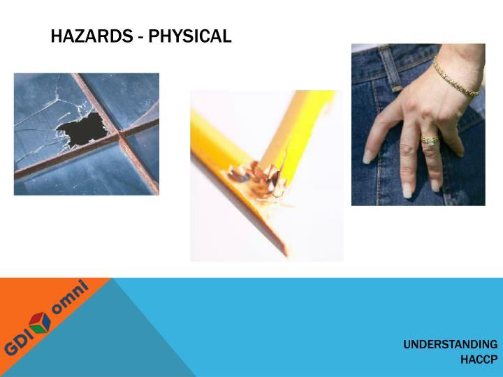 Hazards - physical