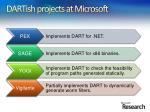 dartish projects at microsoft