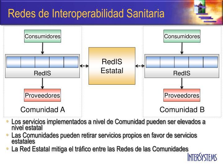 Redes de Interoperabilidad Sanitaria