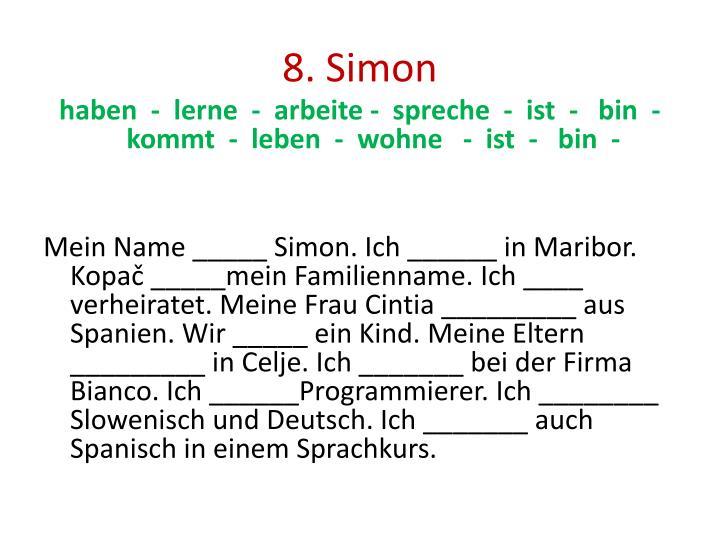 8. Simon