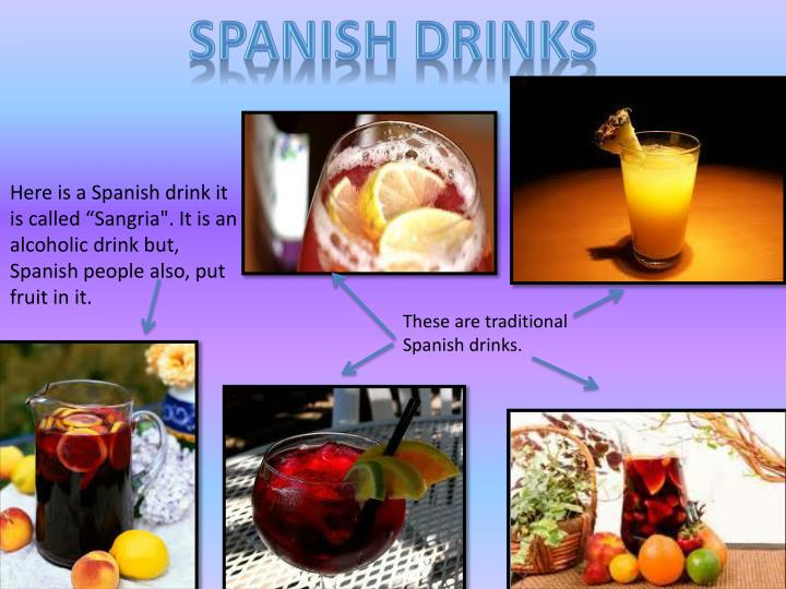SPANISH DRINKS