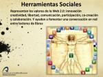 herramientas sociales