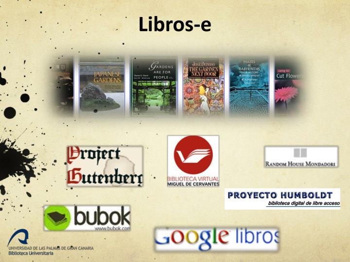 Libros-e