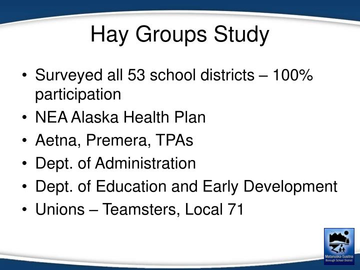 Hay Groups Study