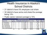 health insurance in alaska s school districts3