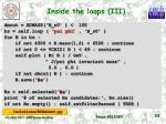 inside the loops iii