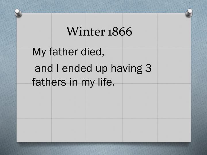 Winter 1866