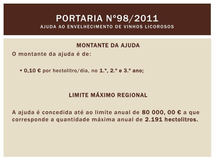 Portaria nº98/2011