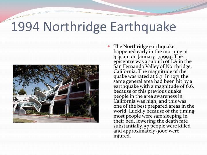 1994 Northridge