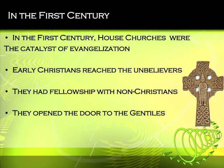In the First Century